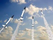Raketten royalty-vrije illustratie