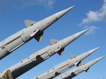 Raketten stock afbeelding
