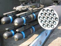 Raketten - wapens van massavernietiging (wmd) Stock Afbeeldingen