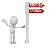 Raketwetenschap Stock Afbeeldingen