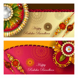 Rakhi background for Indian festival Raksha bandhan celebration Royalty Free Stock Photos