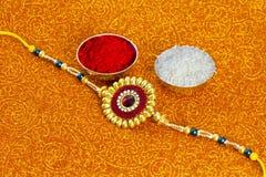 Rakhi Bandhan Raksha στοκ εικόνες