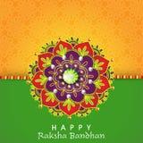 Rakhi creativo per la celebrazione di Raksha Bandhan Fotografia Stock Libera da Diritti