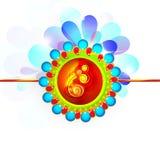 Rakhi creativo per la celebrazione di Raksha Bandhan Immagine Stock Libera da Diritti