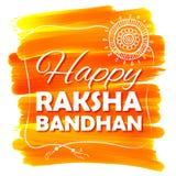 Rakhi decorativo para o fundo de Raksha Bandhan Foto de Stock Royalty Free