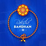Rakhi, Indian brother and sister festival Raksha Bandhan concept.  Royalty Free Stock Images