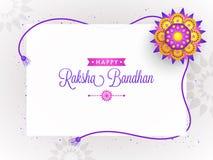 Rakhi, Indian brother and sister festival Raksha Bandhan concept.  Stock Image