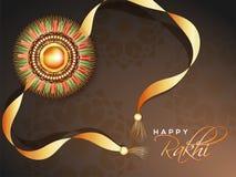 Rakhi, Indian brother and sister festival Raksha Bandhan concept.  Stock Photos