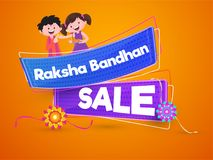 Rakhi, Indian brother and sister festival Raksha Bandhan concept.  Stock Images