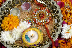 Rakhi, Indian tradition Stock Images