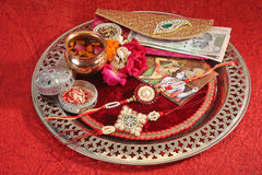 Rakhi or Rakshabandhan - Indian Traditional Festival Stock Photo
