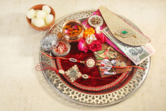 Rakhi or Rakshabandhan - Indian Traditional Festival Royalty Free Stock Images