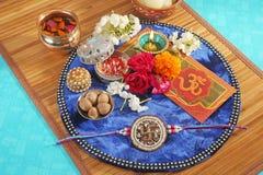 Rakhi or Rakshabandhan - Indian Traditional Festival royalty free stock photo