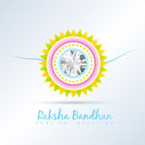 Rakhi vector background Royalty Free Stock Photos