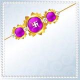 Rakhi vector background Royalty Free Stock Photos