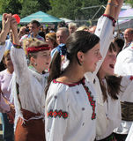 rakhiv s hutsul празднества bryndza Стоковое фото RF