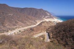 Rakhyut, Dhofar region, Oman. Rakhyut - a small fishing village with a beautiful beach in west Dhofar, Sultanate of Oman Stock Images
