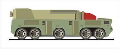 rakietowa ciężarówka Zdjęcia Stock