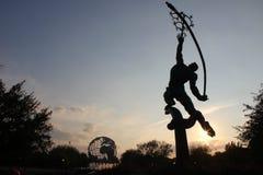 Rakietowy miotacz, korona słoneczna park Zdjęcie Royalty Free
