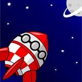 Rakietowy Statek kosmiczny Obrazy Stock