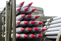 Rakiety, bronie masowego zniszczenia, jądrowe bronie, substancj chemicznych ręki zdjęcia royalty free