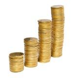 Raking money hands Stock Photography