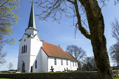 Rakkestad Church. Is the main church in the parish Rakkestad, Østfold Royalty Free Stock Photo
