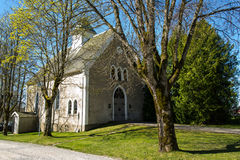 Rakkestad church - chappel Stock Image
