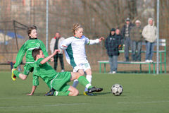 Rakoczi - Airnergy U13 soccer game Royalty Free Stock Photos