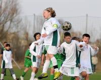 Rakoczi - Airnergy U13 soccer game Stock Images