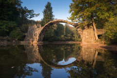 Rakotz bridge Stock Image