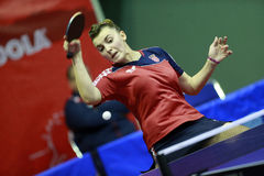 Rakovac Léa (CRO). At THE2013 ITTF World Junior Table Tennis Championships,01 Dec 2013 - 08 Dec 2013, Rabat, MAR Stock Photo