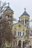 RAKOVSKI, BULGARIE - 31 DÉCEMBRE 2016 : L'église de Roman Catholic la plupart de coeur saint de Jésus dans la ville de Rakovski photographie stock