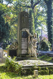 Rakowicki Cemetery,  Krakow, Poland. Royalty Free Stock Images