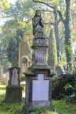 Rakowicki Cemetery,  Krakow, Poland. Stock Photos