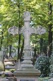 Rakowicki Cemetery,  Krakow, Poland. Stock Photography