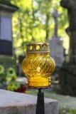 Rakowicki kyrkogård, Krakow, Polen Fotografering för Bildbyråer