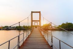 Raksamae bridge stock image