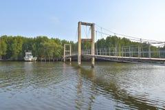 Raksamae bro arkivfoto