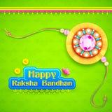 Raksha Bandhan background Stock Image