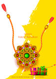 Raksha bandhan background for Indian festival celebration Royalty Free Stock Photos