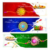 Raksha bandhan background for Indian festival celebration Stock Image