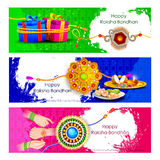 Raksha bandhan background for Indian festival celebration Royalty Free Stock Images