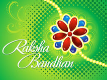 Raksha bandhan background. Vector illustration Stock Photography