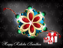 Raksha bandhan background. Vector illustration Royalty Free Stock Photo