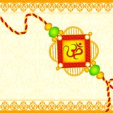 Raksha Bandhan background Royalty Free Stock Photos