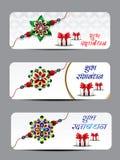 Raksha Bandhan Banner Background Image stock