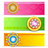 Raksha Bandhan Banner Royalty Free Stock Photo