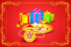 Raksha bandhan celebration Stock Image