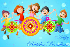 Raksha bandhan celebration Stock Images